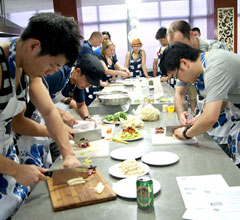 Team-building-cooking-event