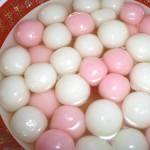 pinkwhite finished tangyuan
