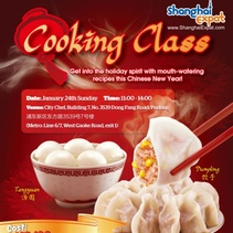 CNY cooking class