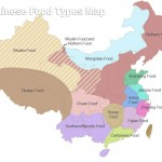 Map of Chinese Regional Cuisines