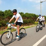 Bike Riding on Chongming Island