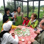 Meal on Chongming Island organic farm