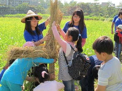 Meal on Chongming Island organic farm