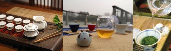 Chinese Tea Outside